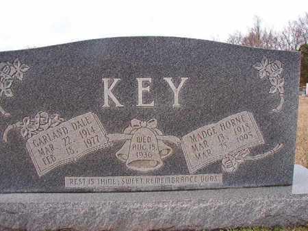KEY, MADGE - Dallas County, Arkansas | MADGE KEY - Arkansas Gravestone Photos