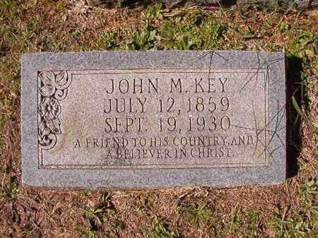 KEY, JOHN M - Dallas County, Arkansas | JOHN M KEY - Arkansas Gravestone Photos