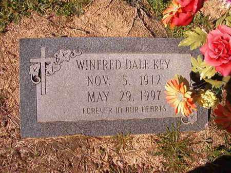 KEY, WINFRED DALE - Dallas County, Arkansas   WINFRED DALE KEY - Arkansas Gravestone Photos