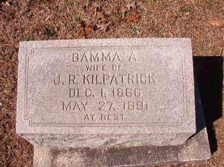 KILPATRICK, BAMMA A - Dallas County, Arkansas | BAMMA A KILPATRICK - Arkansas Gravestone Photos