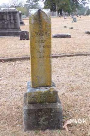 KING, L W - Dallas County, Arkansas | L W KING - Arkansas Gravestone Photos