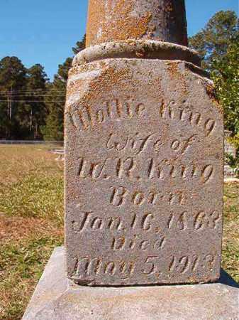 KING, MOLLIE - Dallas County, Arkansas   MOLLIE KING - Arkansas Gravestone Photos