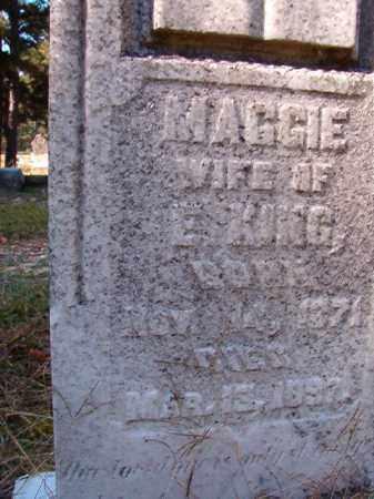 KING, MAGGIE - Dallas County, Arkansas   MAGGIE KING - Arkansas Gravestone Photos