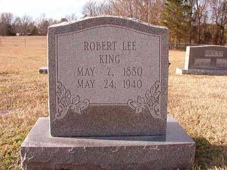 KING, ROBERT LEE - Dallas County, Arkansas   ROBERT LEE KING - Arkansas Gravestone Photos