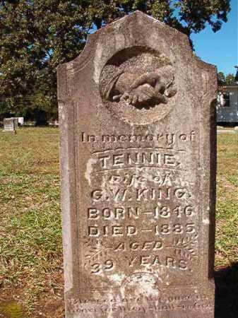 KING, TENNIE - Dallas County, Arkansas | TENNIE KING - Arkansas Gravestone Photos