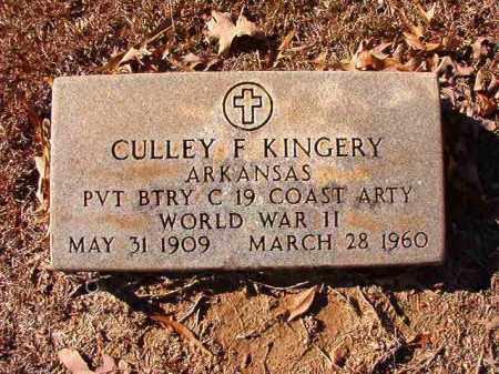 KINGERY, CULLEY F - Dallas County, Arkansas   CULLEY F KINGERY - Arkansas Gravestone Photos