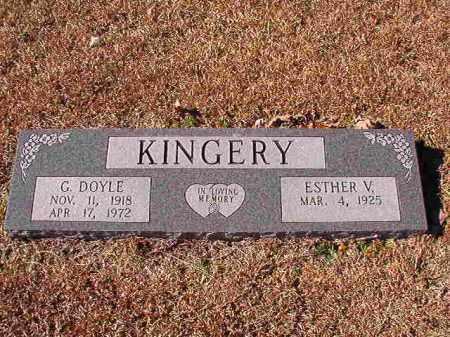 KINGERY, G DOYLE - Dallas County, Arkansas | G DOYLE KINGERY - Arkansas Gravestone Photos