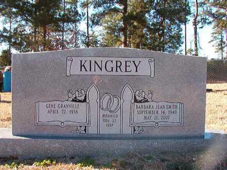 SMITH KINGREY, BARBARA JEAN - Dallas County, Arkansas | BARBARA JEAN SMITH KINGREY - Arkansas Gravestone Photos
