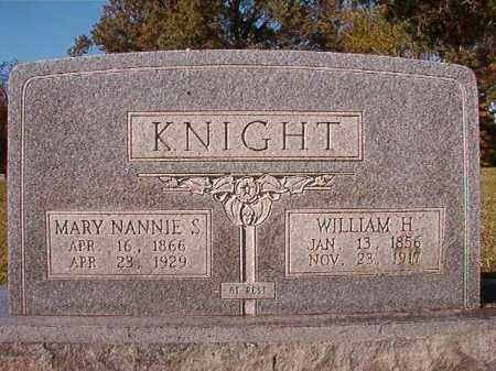 KNIGHT, MARY NANNIE S - Dallas County, Arkansas | MARY NANNIE S KNIGHT - Arkansas Gravestone Photos