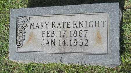 KNIGHT, MARY KATE - Dallas County, Arkansas | MARY KATE KNIGHT - Arkansas Gravestone Photos
