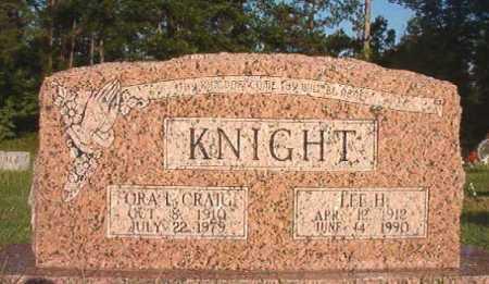 KNIGHT, LEE H - Dallas County, Arkansas | LEE H KNIGHT - Arkansas Gravestone Photos