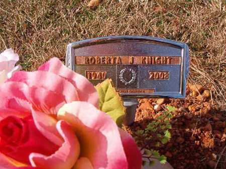 KNIGHT, ROBERTA J - Dallas County, Arkansas | ROBERTA J KNIGHT - Arkansas Gravestone Photos