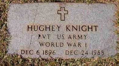 KNIGHT (VETERAN WWI), HUGHEY - Dallas County, Arkansas | HUGHEY KNIGHT (VETERAN WWI) - Arkansas Gravestone Photos