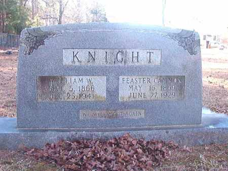 CAMMON KNIGHT, FEASTER - Dallas County, Arkansas | FEASTER CAMMON KNIGHT - Arkansas Gravestone Photos