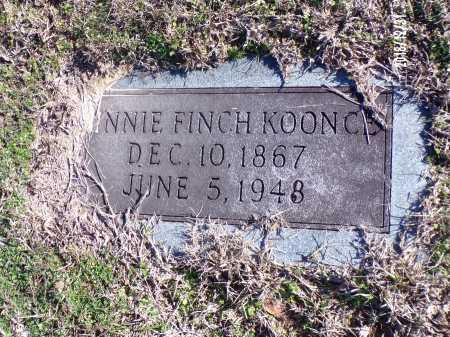 FINCH KOONCE, MINNIE - Dallas County, Arkansas | MINNIE FINCH KOONCE - Arkansas Gravestone Photos