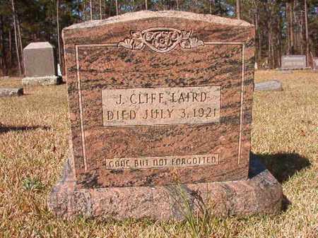 LAIRD, J CLIFF - Dallas County, Arkansas   J CLIFF LAIRD - Arkansas Gravestone Photos