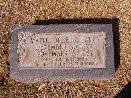 LAIRD, MATTIE OPHELIA - Dallas County, Arkansas | MATTIE OPHELIA LAIRD - Arkansas Gravestone Photos