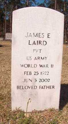 LAIRD (VETERAN WWII), JAMES E - Dallas County, Arkansas | JAMES E LAIRD (VETERAN WWII) - Arkansas Gravestone Photos