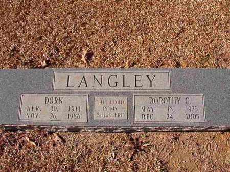 LANGLEY, DOROTHY G - Dallas County, Arkansas | DOROTHY G LANGLEY - Arkansas Gravestone Photos
