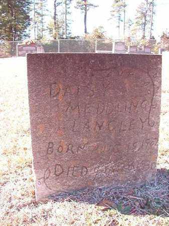 MEDDLING LANGLEY, DAISY - Dallas County, Arkansas | DAISY MEDDLING LANGLEY - Arkansas Gravestone Photos