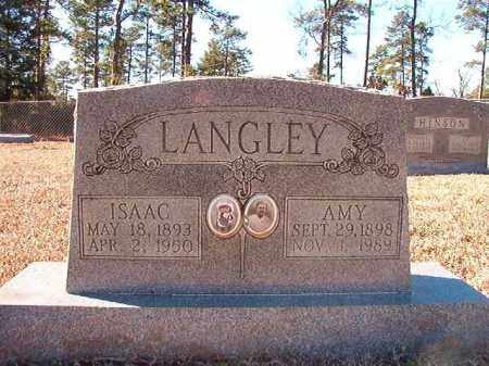 LANGLEY, ISAAC - Dallas County, Arkansas | ISAAC LANGLEY - Arkansas Gravestone Photos