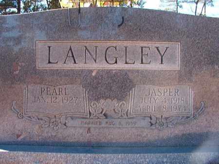LANGLEY, JASPER - Dallas County, Arkansas | JASPER LANGLEY - Arkansas Gravestone Photos