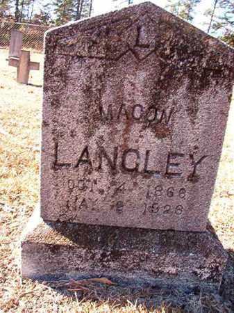 LANGLEY, MACON - Dallas County, Arkansas | MACON LANGLEY - Arkansas Gravestone Photos