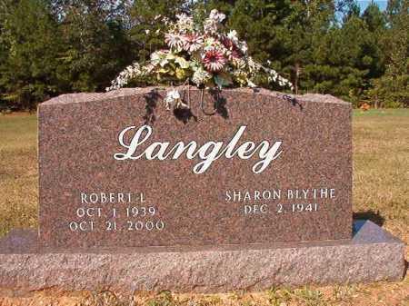 LANGLEY, ROBERT L - Dallas County, Arkansas | ROBERT L LANGLEY - Arkansas Gravestone Photos