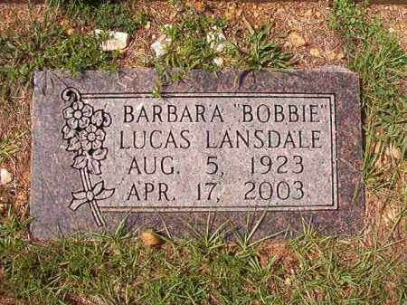 "LANSDALE, BARBARA ""BOBBIE - Dallas County, Arkansas 