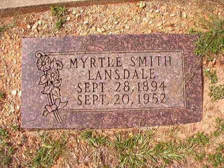 LANSDALE, MYRTLE - Dallas County, Arkansas | MYRTLE LANSDALE - Arkansas Gravestone Photos