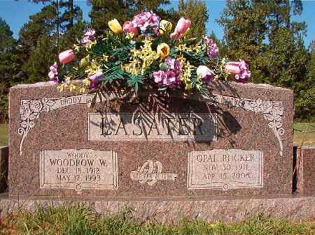 LASATER, WOODROW W - Dallas County, Arkansas | WOODROW W LASATER - Arkansas Gravestone Photos