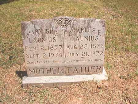 LAUNIUS, MARY SUE - Dallas County, Arkansas | MARY SUE LAUNIUS - Arkansas Gravestone Photos
