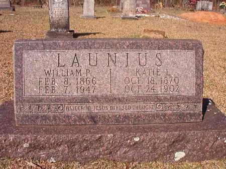 LAUNIUS, WILLIAM P - Dallas County, Arkansas   WILLIAM P LAUNIUS - Arkansas Gravestone Photos