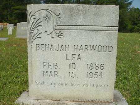 LEA, BENAJAH HARWOOD - Dallas County, Arkansas   BENAJAH HARWOOD LEA - Arkansas Gravestone Photos