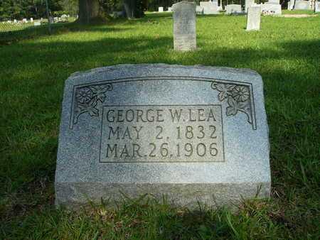 LEA, GEORGE W - Dallas County, Arkansas   GEORGE W LEA - Arkansas Gravestone Photos