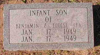 LEA, INFANT SON - Dallas County, Arkansas | INFANT SON LEA - Arkansas Gravestone Photos