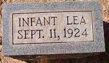 LEA, INFANT - Dallas County, Arkansas | INFANT LEA - Arkansas Gravestone Photos