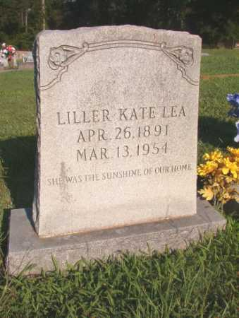 LEA, LILLER KATE - Dallas County, Arkansas | LILLER KATE LEA - Arkansas Gravestone Photos