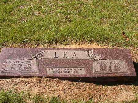 SMITH LEA, LORENA M - Dallas County, Arkansas | LORENA M SMITH LEA - Arkansas Gravestone Photos