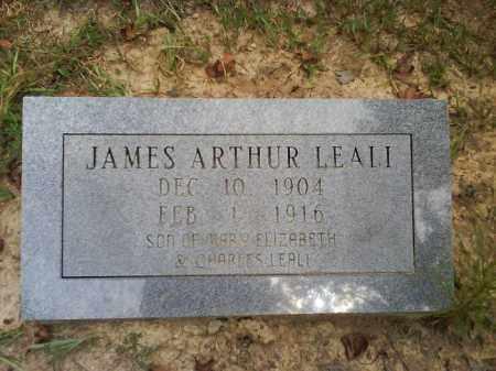 LEALI, JAMES ARTHUR - Dallas County, Arkansas | JAMES ARTHUR LEALI - Arkansas Gravestone Photos