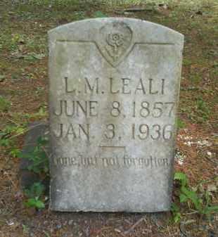 LEALI, LOUIS M - Dallas County, Arkansas | LOUIS M LEALI - Arkansas Gravestone Photos