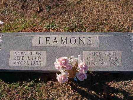 LEAMONS, DORA ELLEN - Dallas County, Arkansas   DORA ELLEN LEAMONS - Arkansas Gravestone Photos