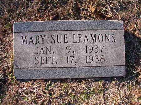 LEAMONS, MARY SUE - Dallas County, Arkansas | MARY SUE LEAMONS - Arkansas Gravestone Photos