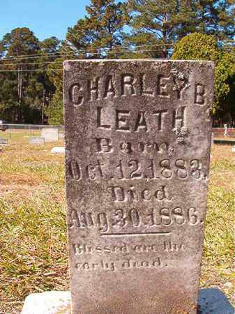 LEATH, CHARLEY B - Dallas County, Arkansas | CHARLEY B LEATH - Arkansas Gravestone Photos