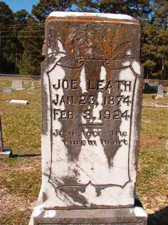 LEATH, JOE - Dallas County, Arkansas   JOE LEATH - Arkansas Gravestone Photos