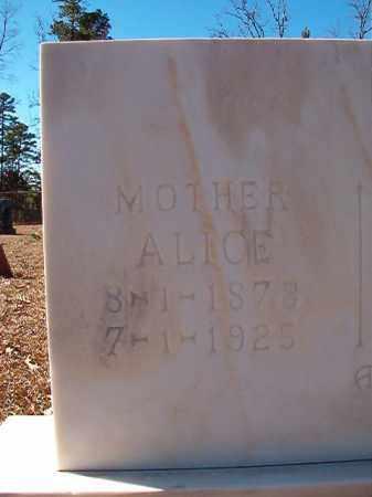 LEE, ALICE - Dallas County, Arkansas | ALICE LEE - Arkansas Gravestone Photos