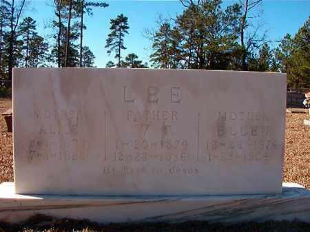 LEE, ALICE - Dallas County, Arkansas   ALICE LEE - Arkansas Gravestone Photos