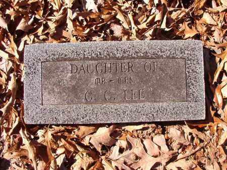 LEE, DAUGHTER - Dallas County, Arkansas   DAUGHTER LEE - Arkansas Gravestone Photos