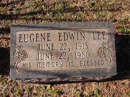 LEE, EUGENE EDWIN - Dallas County, Arkansas | EUGENE EDWIN LEE - Arkansas Gravestone Photos