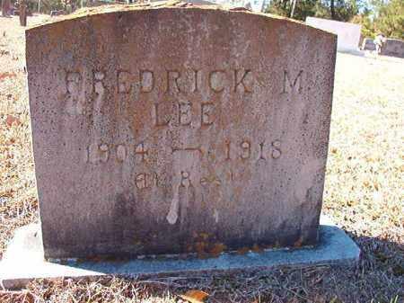 LEE, FREDRICK M - Dallas County, Arkansas | FREDRICK M LEE - Arkansas Gravestone Photos